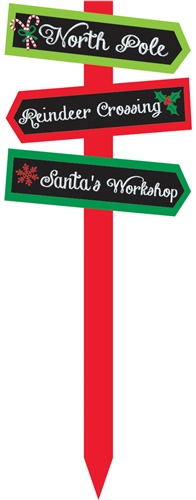 Christmas Arrow Value Yard Stake | Christmas Party Supplies ...