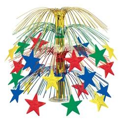 Multi-Color Star Cascade Centerpiece | New Year's Eve ...